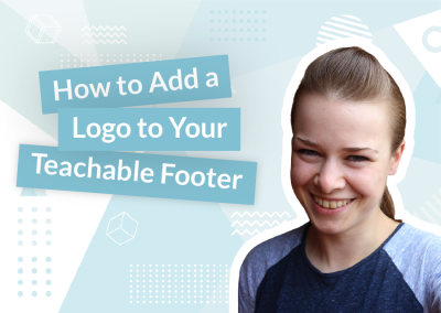 How to Add a Logo to Your Teachable Footer